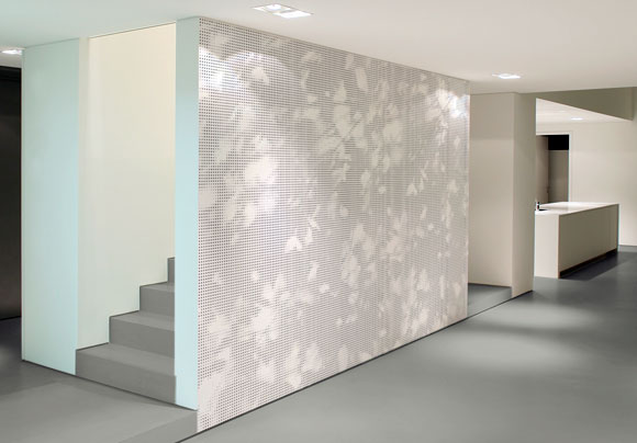 Graphic Shadow Play Digital Printing On Nonwoven Wallpaper Interior Picture Istock Photo Alexandre Zweiger